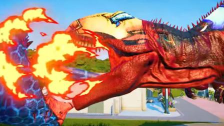 侏罗纪世界295恐龙大PK