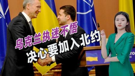 被欧美坑惨仍执迷不悟,乌克兰走上不归路,决意要加入北约