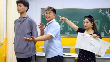 同学们被老师罚站的不同反应,学霸委屈落泪