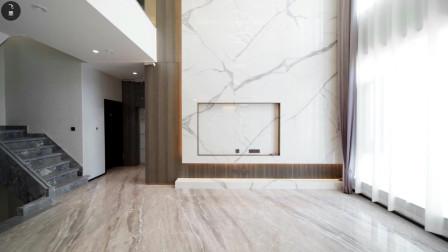 上下6层的别墅,动静分区做得好,那叫一个舒适自在!