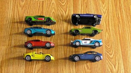 展示8辆帅气的跑车玩具
