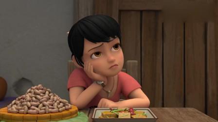 熊出没:赵琳光头强真是一对冤家,见面就拌嘴,真一对活宝