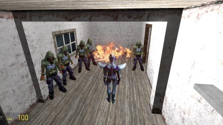 赛罗奥特曼发现密室有一群人在玩火怎么办?