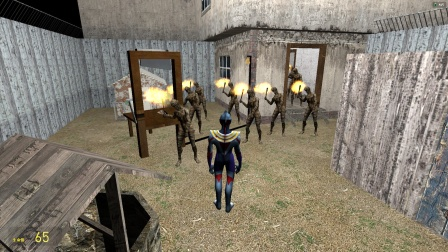 欧布奥特曼在密室,怎么出来那么多木乃伊?