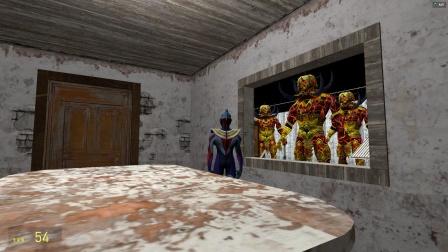 欧布在密室里面玩,发现外面有怪兽怎么办?