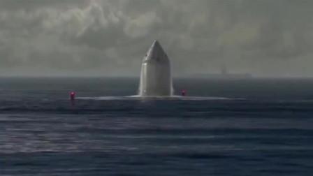 导弹冲出海面后,接下来的画面,只能用震撼来形容