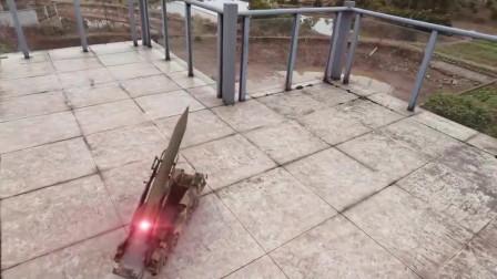 导弹特效真厉害,画面不是一般的壮观,有这武器谁还敢再来找事