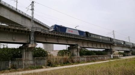 【宁启线】上局合段HXD3C-0035牵引电力客车K94/1次(南通→深圳东)