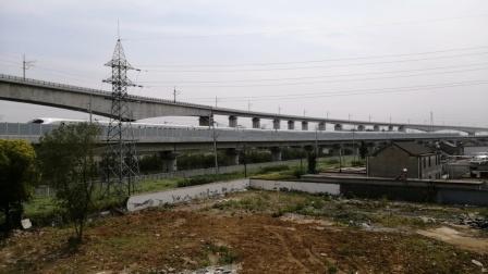【连镇泰安联络线】D2882/3次(汉口→连云港)汉口动车所CRH2B担当