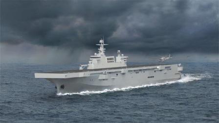 中国造舰得抄袭美国?一日下水3艘王牌战舰后,白宫脸色突然铁青