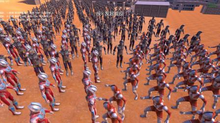 奥特之王、佐菲和银河奥特曼各500个混战,最后谁能赢?