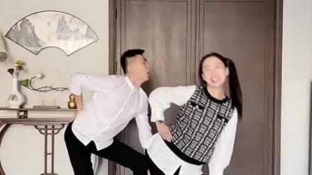 用如此魔性的歌曲排练舞蹈,后面小伙跳的太投入,完全无法自拔了