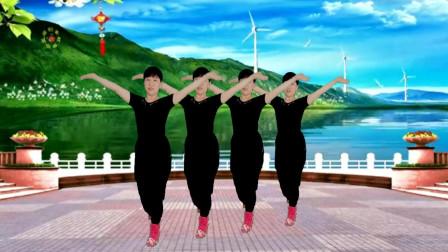 郴州冬菊广场舞【想你想在心窝窝】动感欢快简单潇洒64步水兵舞