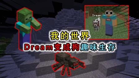 MC:Dream变成了一只狗