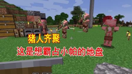 我的世界联机06:小帕的妙妙屋被炸了,猪人们齐聚一堂开宴会