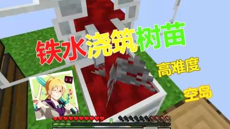 【色度空岛】铁水浇筑树苗高难度空岛01