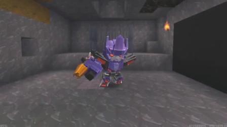 迷你世界:变身擎天柱后的大表哥,他想要挑战五大变形金刚