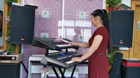 《缘岛小夜曲》双层电孑琴演奏视频2021.6.17.🌴🌴🌴🌴🌴🌴🌴