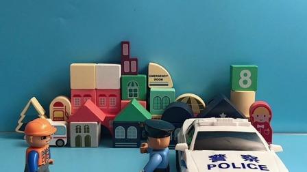警察叔叔,你能带我会回家吗