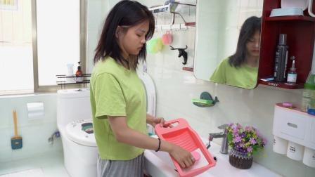 家里洗不完的内衣内裤,用手洗洗不干净,试试这个搓衣板