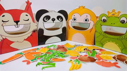 松鼠吃松子猴子吃香蕉,青蛙喜欢吃什么呀