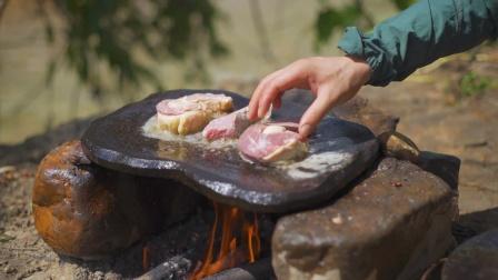 简简单单吃个石板烤肉!