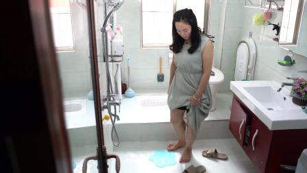 浴室地板太滑,铺上这个防滑垫,尤其家里有老人的