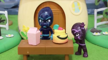 睡衣小英雄:爱吃甜食的夜幕忍者玩具故事