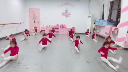 少儿舞蹈坐姿教程