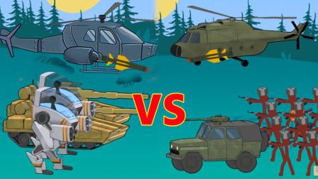 火柴人现代战争遗产04 成功升级了黄金坦克 获得飞机使用权太强了!
