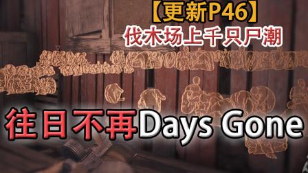 嗨氏《往日不再Days Gone》:46伐木场上千只尸潮,不过如此