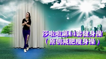 莎啦啦第14套健身操第9节《此生过半DJ》筋络拍打更健康