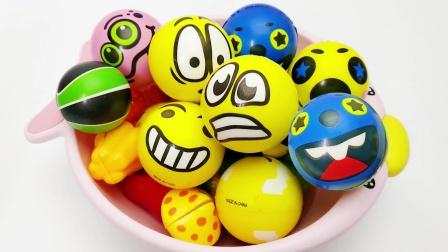 一篓子的表情包玩具 水果切切乐玩具 儿童玩具视频