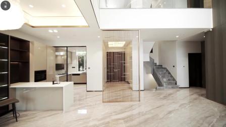 建议买别墅的业主:装修通铺大理石、背景墙上岩板,足够气派!