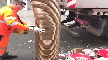 垃圾清理专用车,快速高效