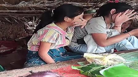 老挝乡镇市场:地摊实拍