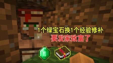 我的世界1.17联机13:准备绿宝石,换超便宜的经验修补