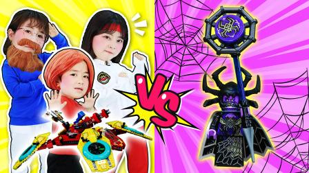 终极大战一触即发!悟空小侠战队vs蜘蛛精!
