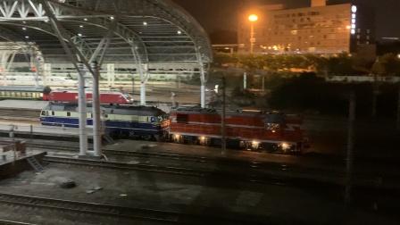 52692南京站六道通过,宁东狮子带调机去南京西