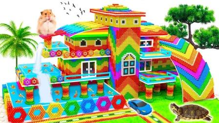 DIY如何建造海边度假别墅玩具