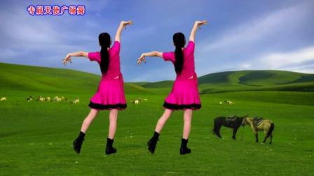 民族风广场舞《凤凰飞》演唱:乌兰图雅,歌声婉转悠扬,好听极了