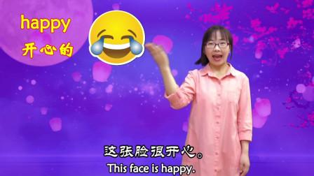 疯狂英语系列 各种各样的面孔 轻松快乐学英语