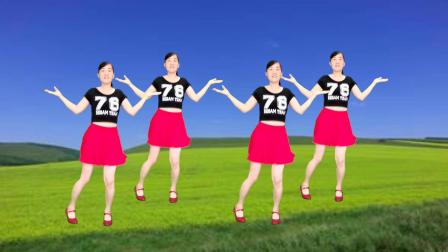 火爆流行广场舞《一朵情花开》DJ版,动感弹跳附教学