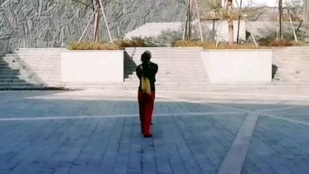 水兵舞第九套第三节音乐演示《旋转跳跃》王雄老师与邬彩凤老师