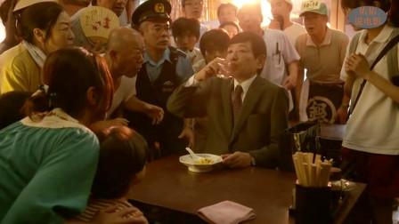 日本男人的胃就像无底洞,连续吃了20多碗,居然还没填饱肚子