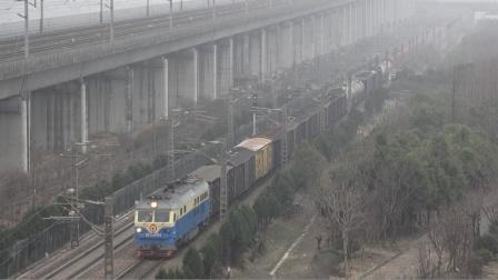【2021.01.24】[沪昆线][盈丰出租屋楼顶] 货列48404次 DF4D4194