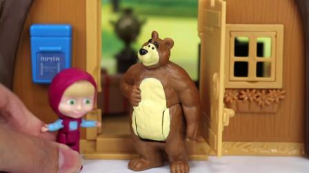 玛莎和熊玩具:跟玛莎、米莎一起布置她们的家