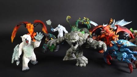 超酷的动物白龙玩具展示