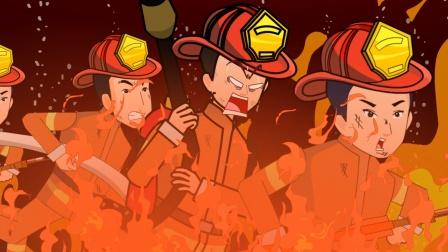 父亲节召开班会,振宇消防员爸爸令人致敬