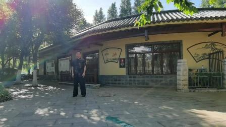 赵幼斌弟子吕炳松昆明翠湖公园演绎传统太极拳85式